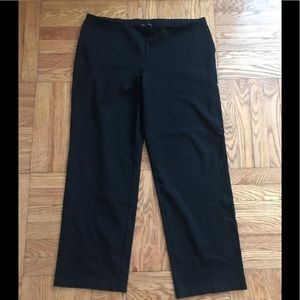 EILEEN FISHER SYSTEM SLIM FIT CROPPED PANTS, XL